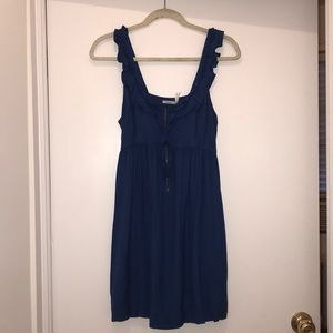 Kimchi Blue dress in dark blue, size M